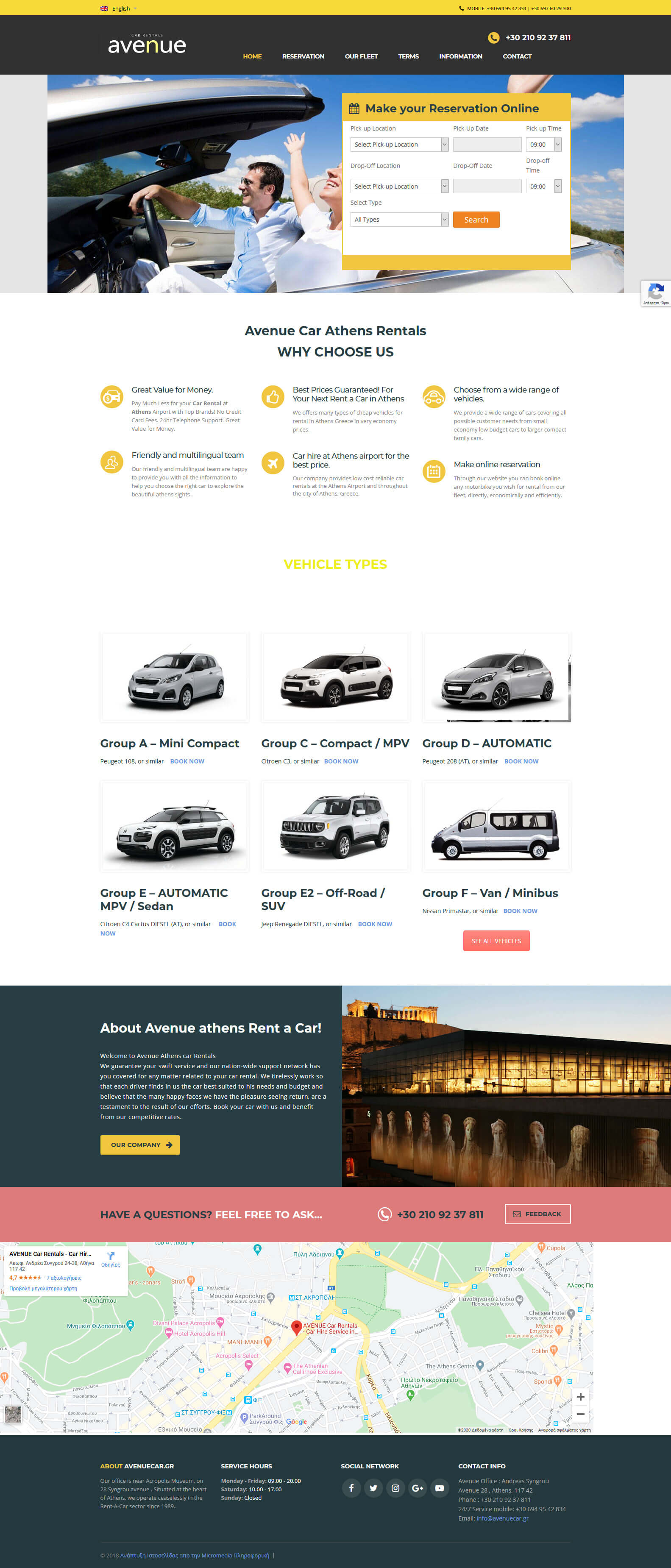 Avenue-athens rent a car Cheap Car Rental in Athens Greece