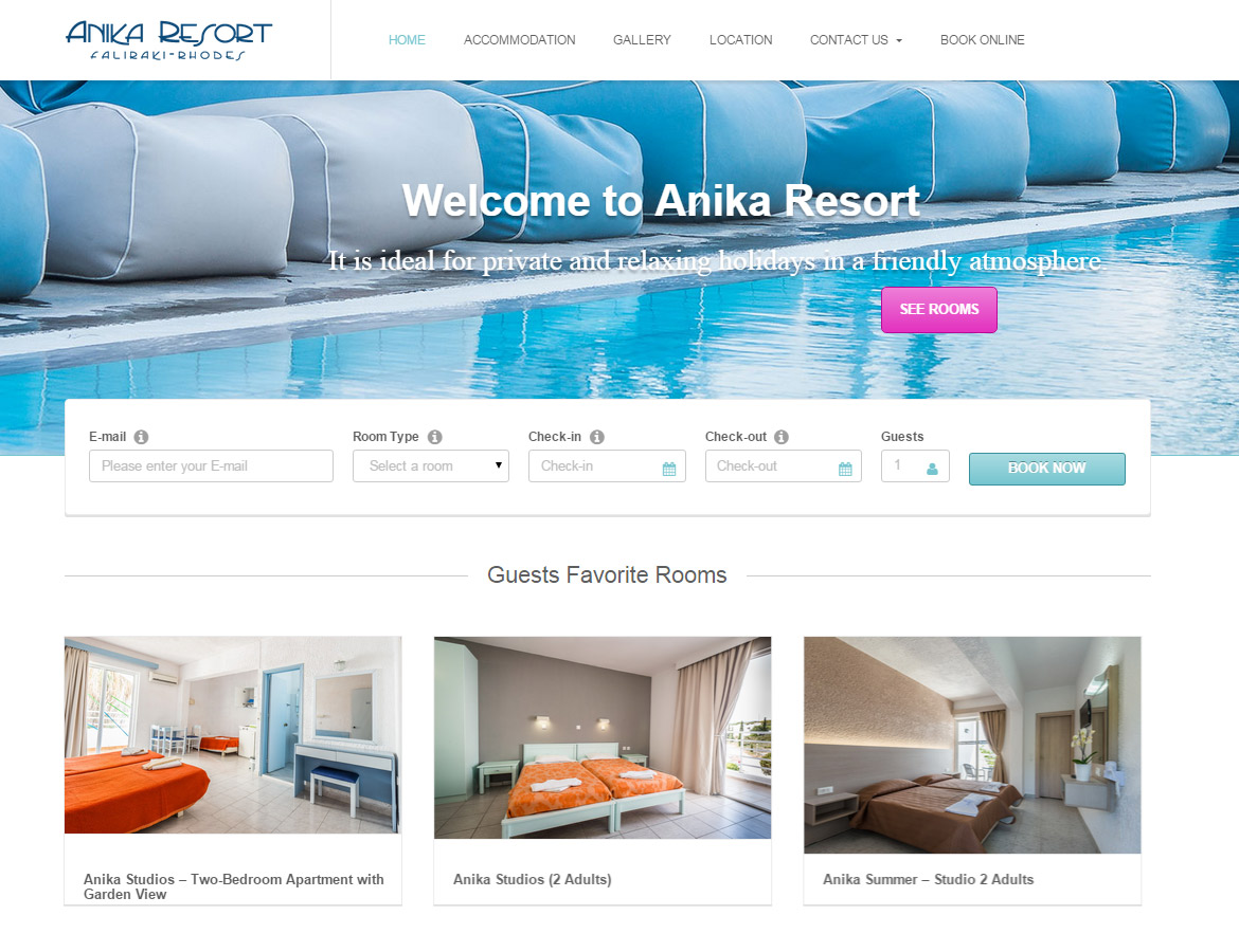 Anika Resort Hotels